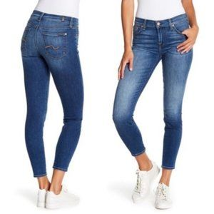 NWT 7 For All Mankind Gwenevere Skinny High Rise